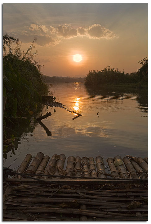 Mae Kok Sunset