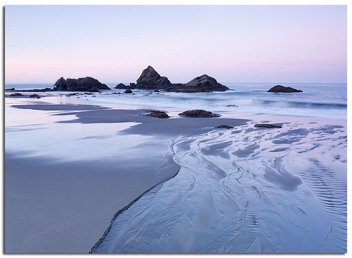 Harris Beach Pastels